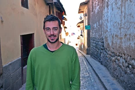 Andreas in Cusco