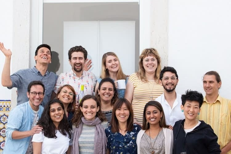 MovingWorlds Institute Global Fellows at Lisbon kickoff