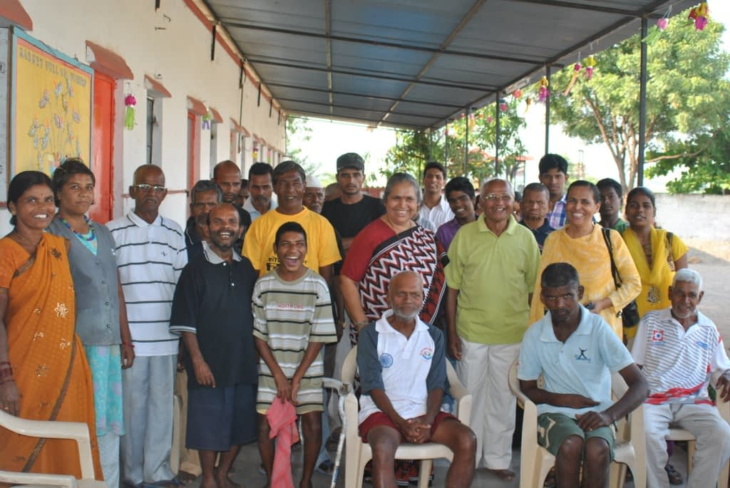 Maher Ashram also caters to men, and helps by offering training services to encourage self-sufficiency.