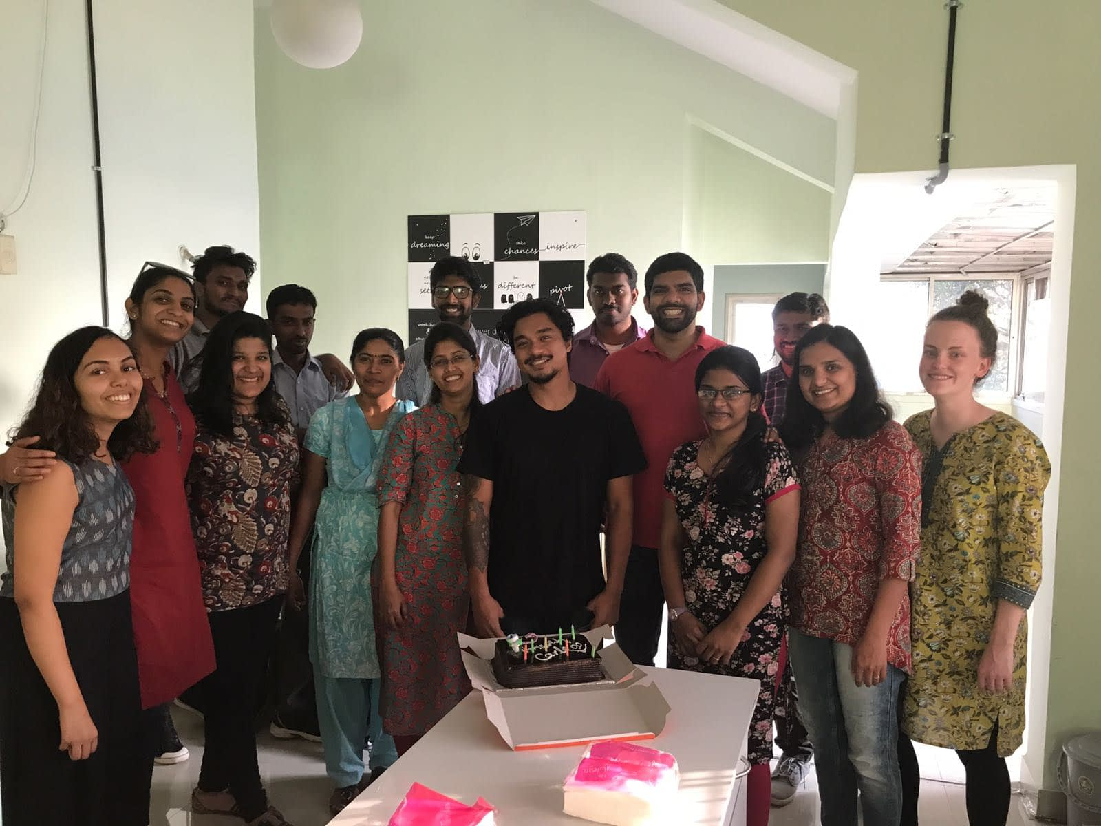 Carlo celebrated his birthday with the BEMPU team.