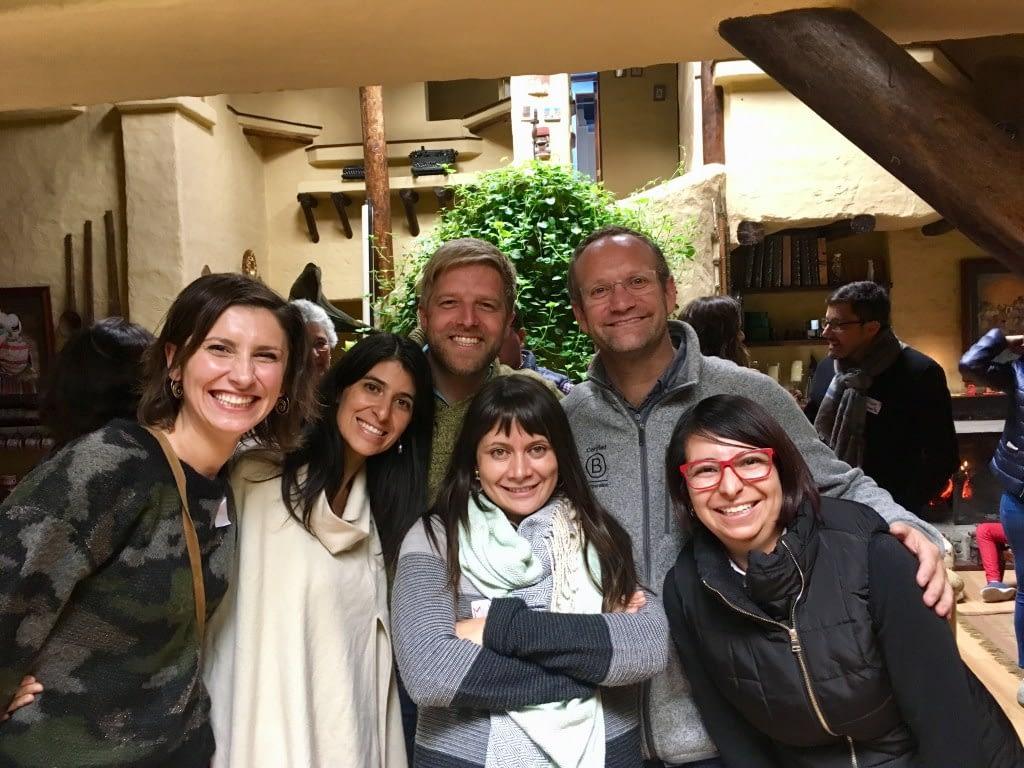 Andreia with Sistema B Team