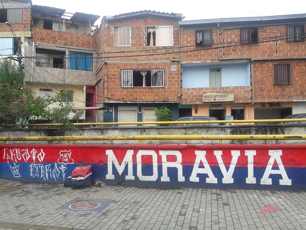 Mural in the neighborhood of Moravia