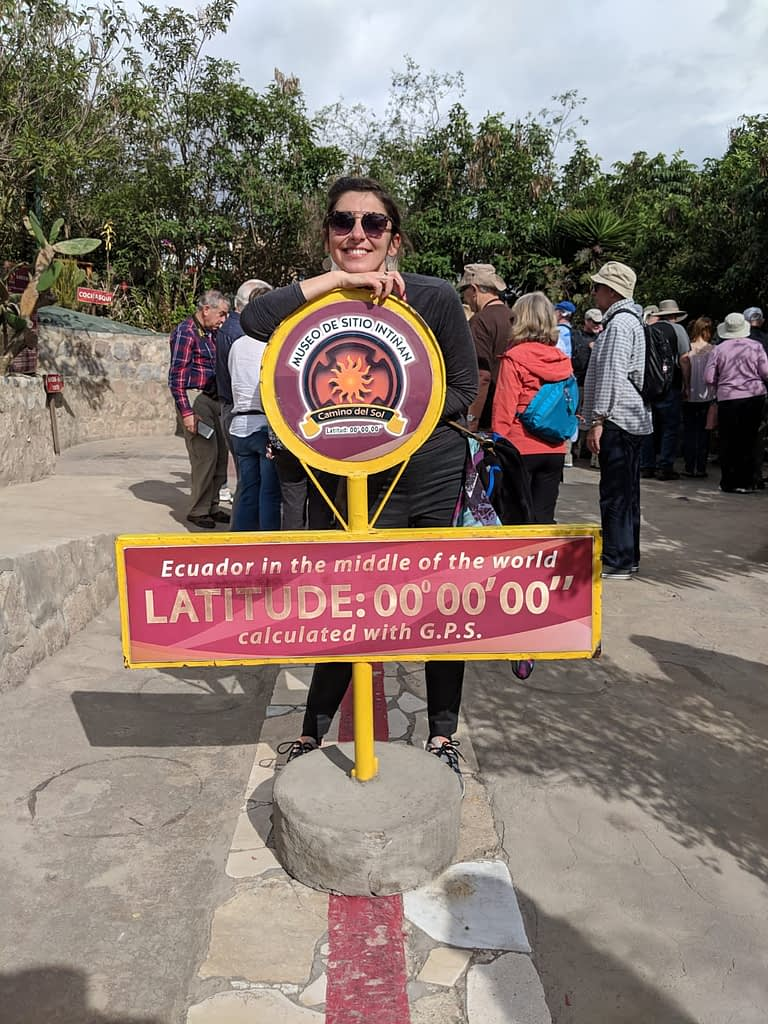 Andreia at the center of the world