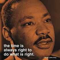 MLK Quote Do What is Right