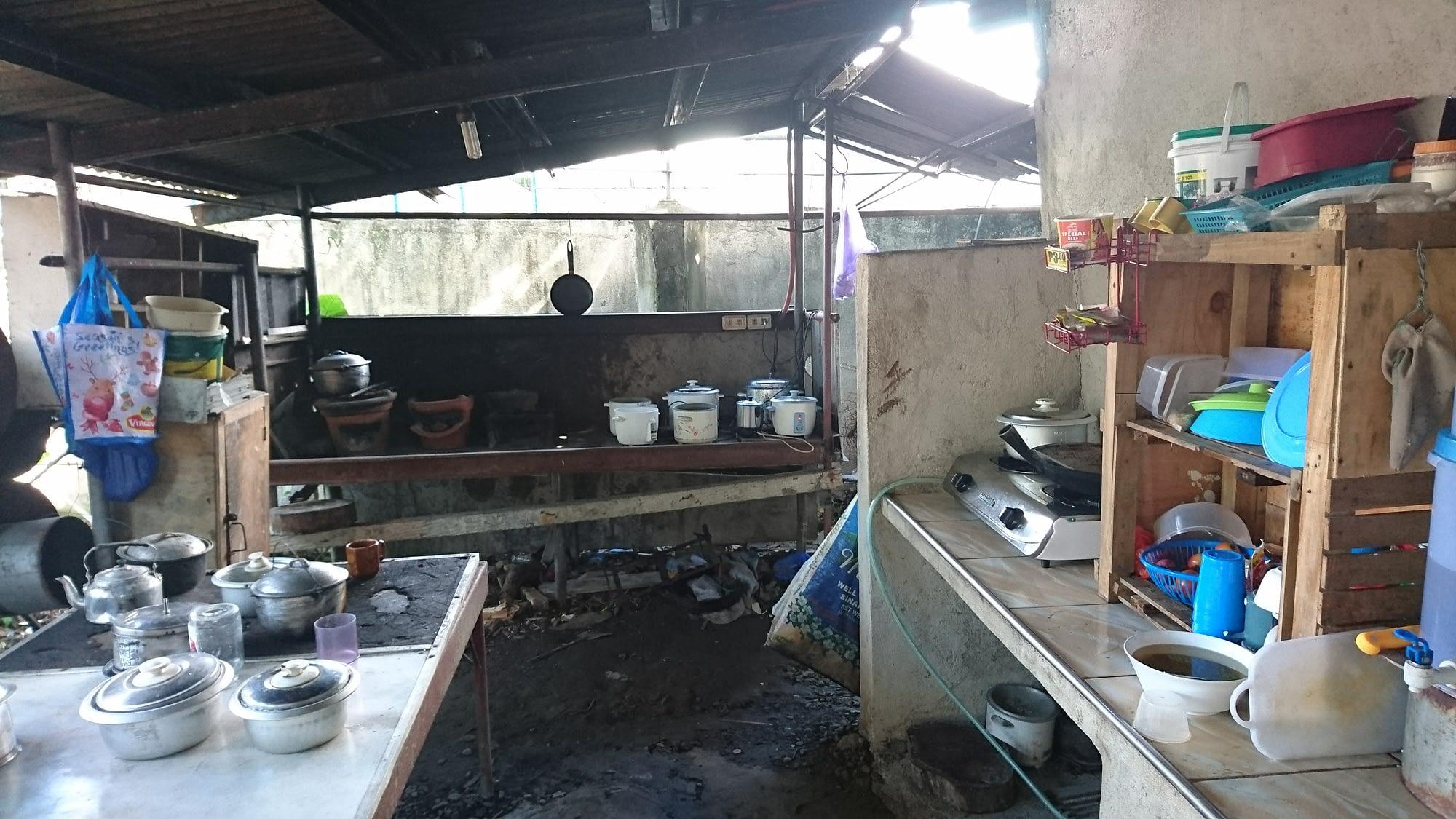 The AIDFI staff kitchen