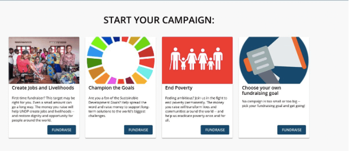 Starting your campaign is just a few steps away!