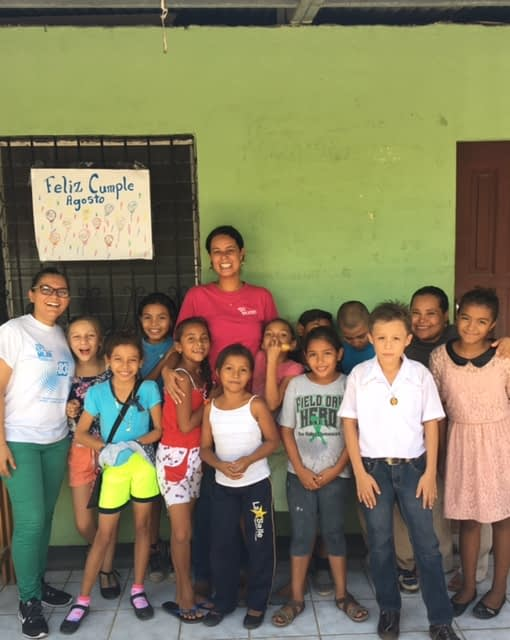 """These children were Fernanda's inspiration every day. """"I feel very grateful to have the chance to share in their growth and learning."""""""