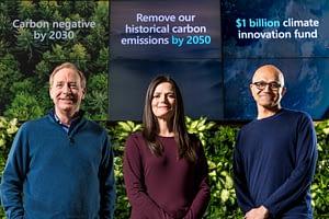 Microsoft announces climate neutrality image