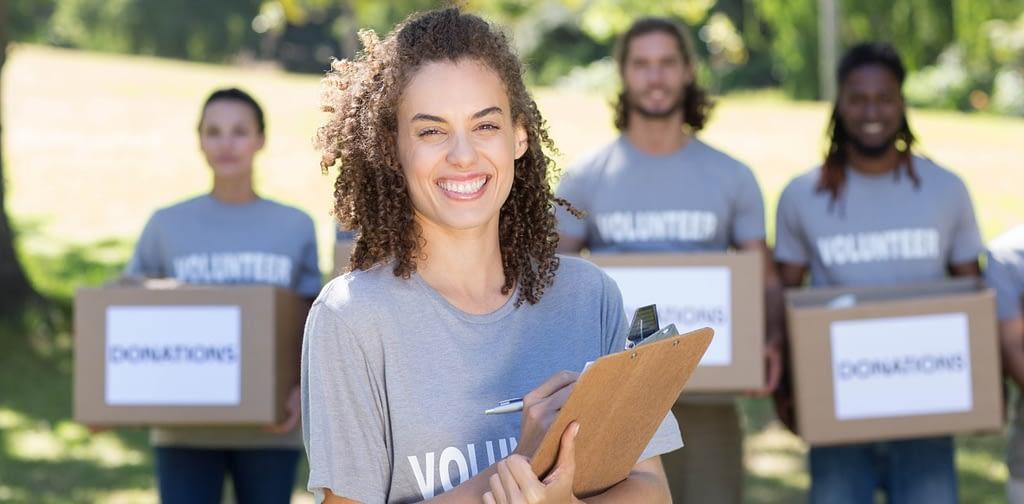 Volunteering employees