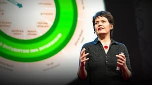 Image of Kate Raworth Doughnut Economics presentation