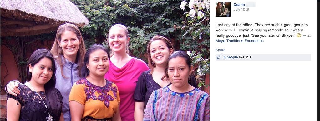 Deana Experteering Guatemala quote