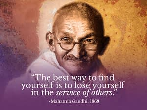 Ghandi-quote-service
