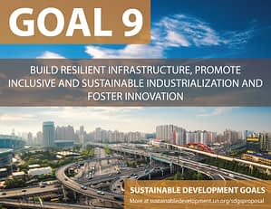 SDG Goal 9 is about industrilization  from United Nations Sustainable Development Goals