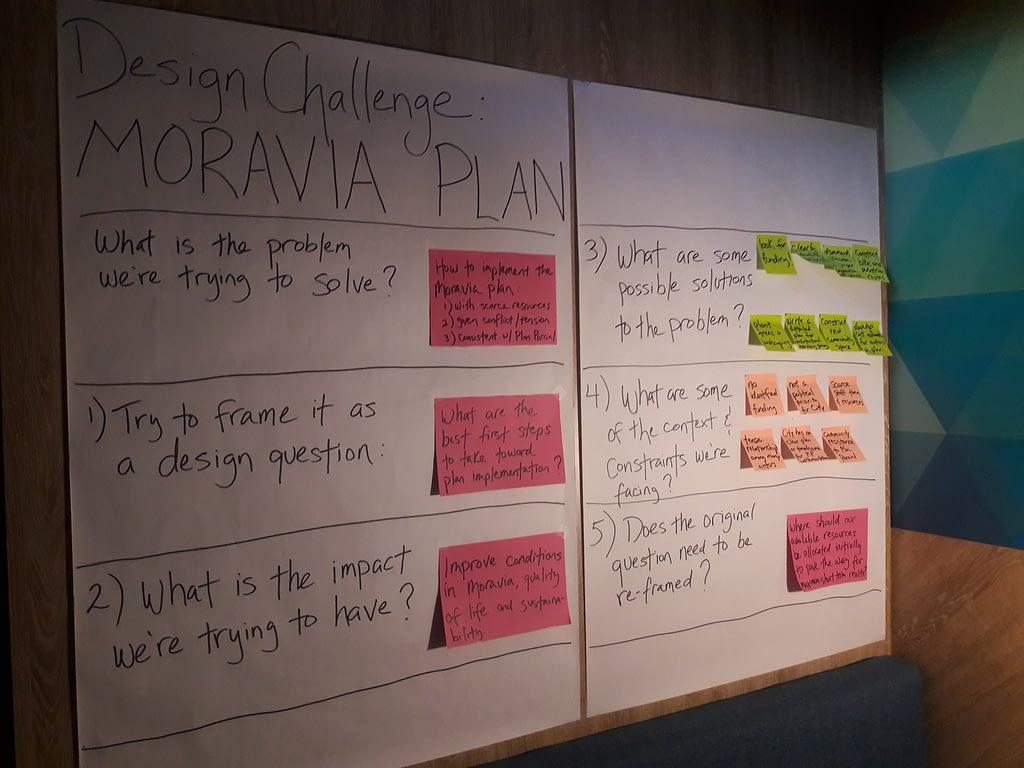 Design Challenge - Moravia Plan