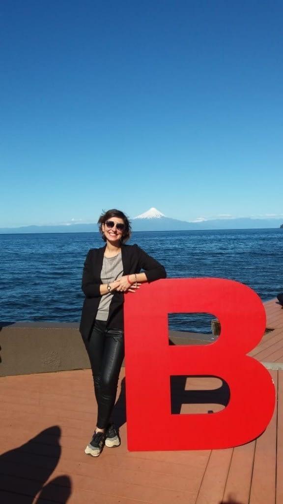 Andreia at ecuentro B in chile