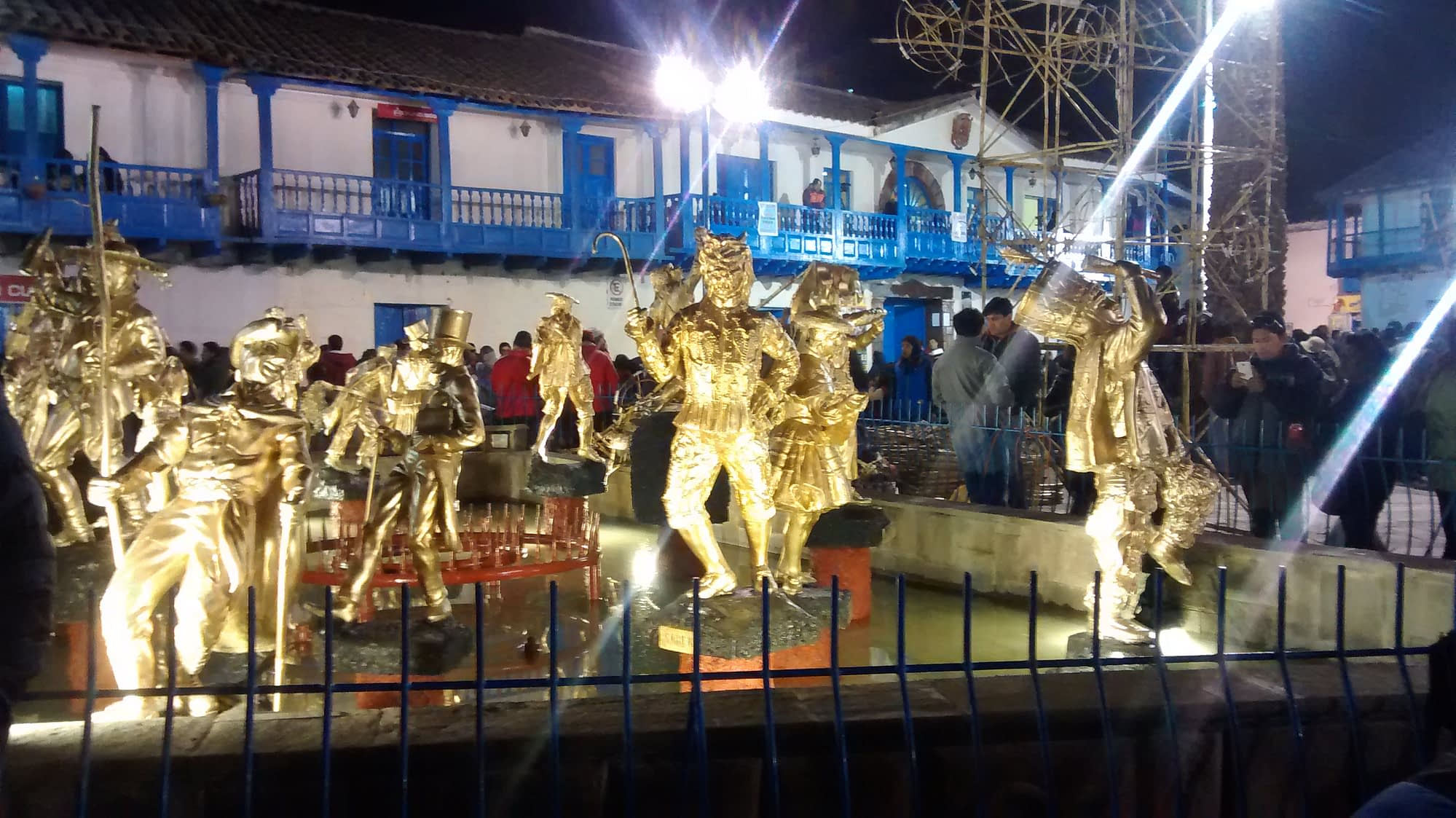 Festival in the Andes