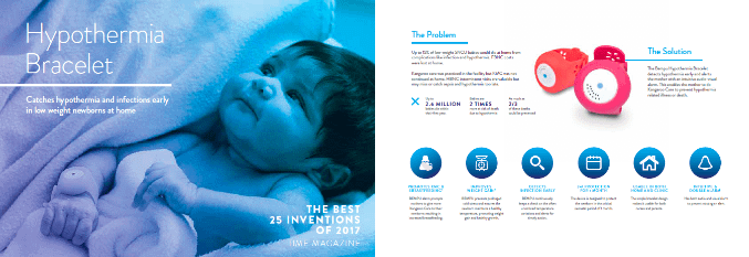 BEMPU and Carlo worked on a catalog together to help raise awareness about hypothermia.